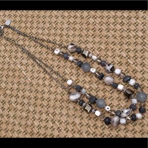 Charming Charlie Double Strand Necklace